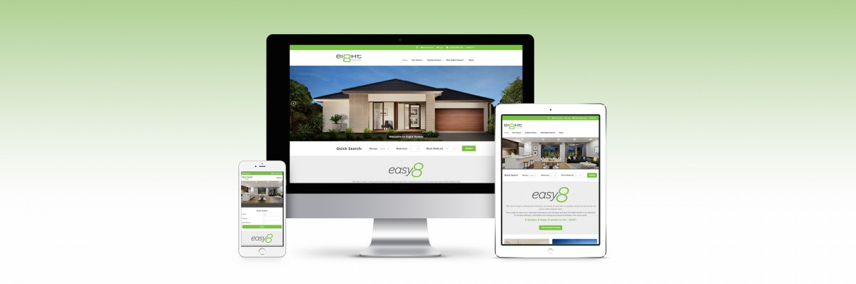 Welcome to the New Eight Homes website