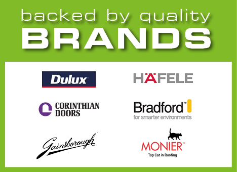 Backed by Quality Brands